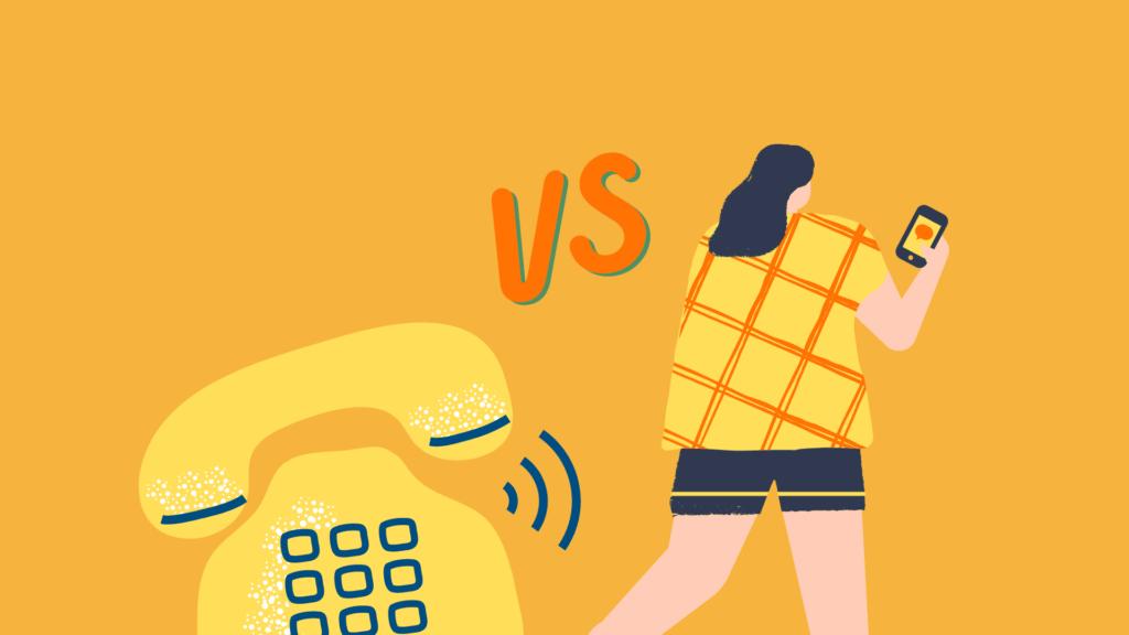 Телефон или чат-боты